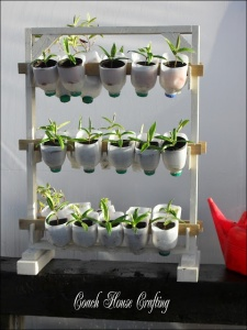 Great way to recycle old milk cartons