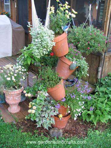plant pot tower